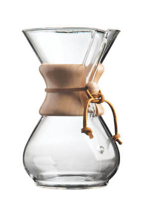 Chemex 3-6 Cup Wood Neck Coffee Maker