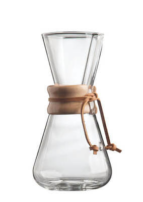Chemex 1-3 Cup Wood Neck Coffee Maker