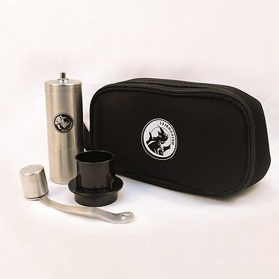 Rhinowares Grinder W/ Aeropress Adaptor and Rhinowares Travel Bag