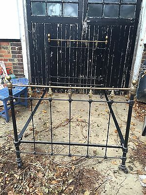 Vintage Cast Iron Bed Frame