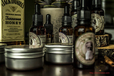 Barons Wax moustache and beard natural handmade organic care balm wax oil