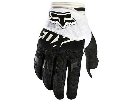 Guanti Fox Dirtpaw Race White Fox Mx16 Offerta Ultima Taglia S