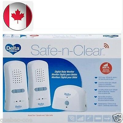Delta Children Safe and Clear 2 Parent Digital Baby Monitor