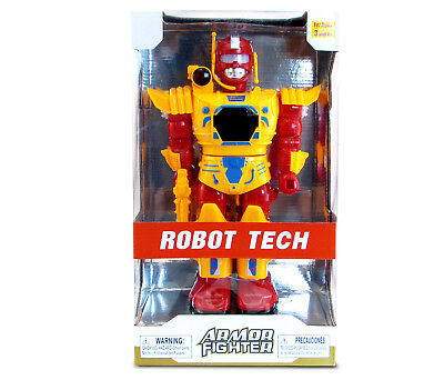 Mozlly Battery Operated Orange Armor Fighter Action Figure