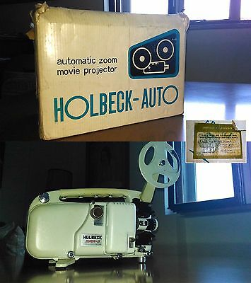 Proiettore Vintage Super 8 Mm Holbeck - Auto Made In Japan