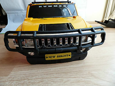 New Bright Radio Control RC 1:6 Scale Hummer H2 Crawler Off Road Body Shell Huge