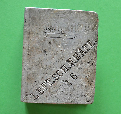 WWII German Imperial trench art MATCH BOX PROTECTOR