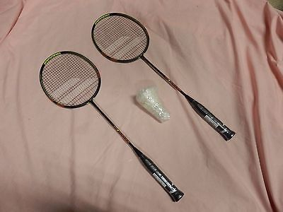 Babolat X-Feel Lite Carbon Fibre Badminton Rackets With Bag And Shuttles