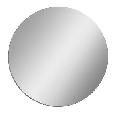 """Clear Mirror Acrylic  1/8"""" Plastic Sheet Circle Disc 4"""" Diameter (Pack Of 4)"""