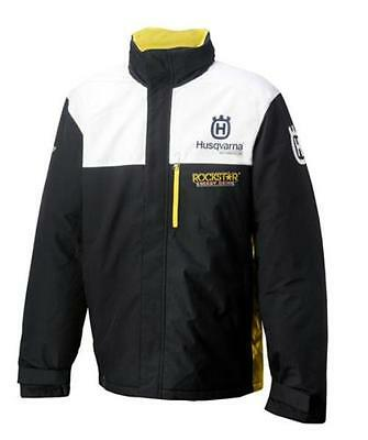 New Husqvarna Factory Racing Jacket Rockstar Hooded Zip Jacket Size Large $185