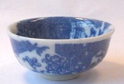 C19Th Japanese Blue And White Sake Cup