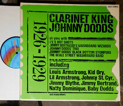 Johnny Dodds 1926 - 1929 Clarinet King 2-Lp Set