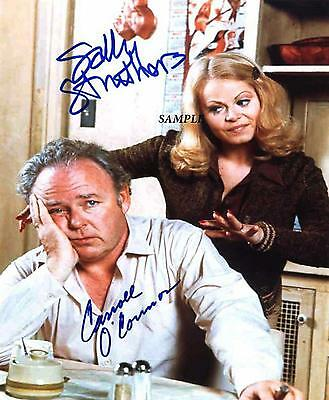 All In The Family Reprint Signed Picture Photo Carroll Oconnor Sally Struthers