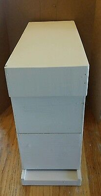 Hardy Bees Starter Hive Honey Beehive with 1.5lb nuc of Bees & proven Queen