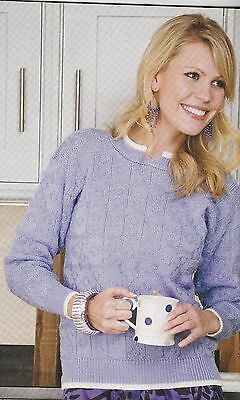 Garter Carriage Sweater Pattern For Machine Knitting