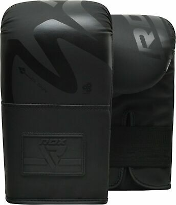 RDX Leather Weight Lifting Grips Training Gym Straps Gloves Hand Palm Support BB