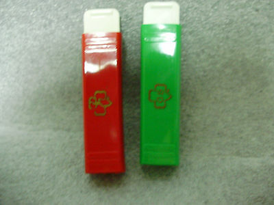 2 Vintage Girl Scout Toothbrushs