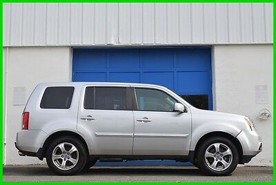 2013 Honda Pilot EX-L AWD 4WD Leather Heated Seats Loaded Save Big Repairable Rebuildable Salvage Runs Great Project Builder EZ Fix Cosmetic Only