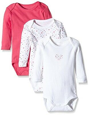 (TG. 50) NAME IT NITBODY LS NB G NOOS, Body Bimbo 0-24, Multicolore (Rouge Red),