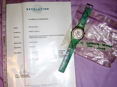 WHITE CHICKS Screen Used Prop BRITTANY SHAWN WAYANS WORN LARGE WATCH COA