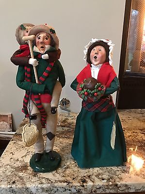 Byers Choice Carolers - Cratchit Family 2nd Edition - 1985 1991992 - WITH TAGS