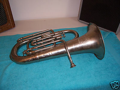 Vintage Dyer's Improved Model  Baritone horn,has dents, made in Austria ?