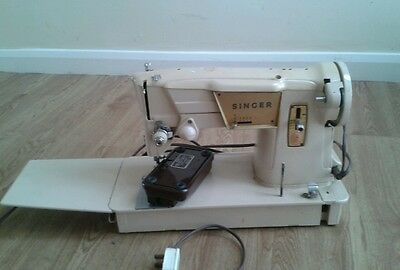 Retro Singer Sewing Machine 317 - 1966-69 Comes With Canvas Carry Bag