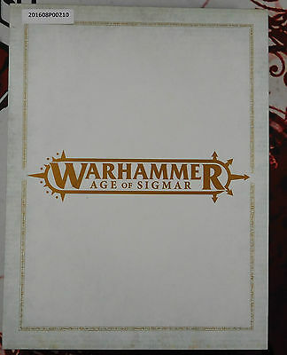 Age of Sigmar [Limited Edition Rule Book] Games Workshop [Good Condition]