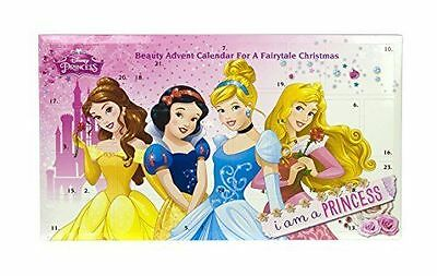 Disney Princess Beauty Christmas Advent Calendar Toy Jewellary Make Up
