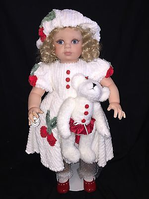 """Virginia Turner adorable vinyl doll 26"""" inches HARD TO FIND"""