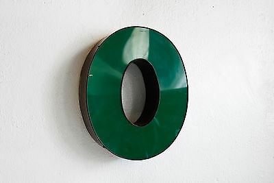 "Vintage Channel Letter ""O"" in Forest Green - Large"