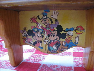 Shelf Handmade For Child's Room With Disney Characters Painted On It