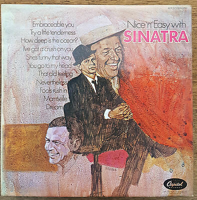 FRANK SINATRA - Nice 'n' Easy LP with Nelson Riddle.