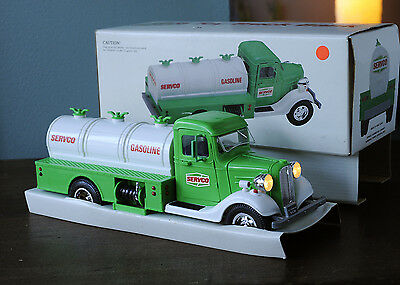 Servco Toy Truck Bank Battery Operated In Original Box