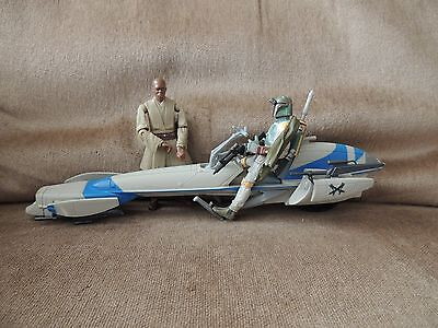 Star Wars Boba Fett-Mace Windu and Speeder bike
