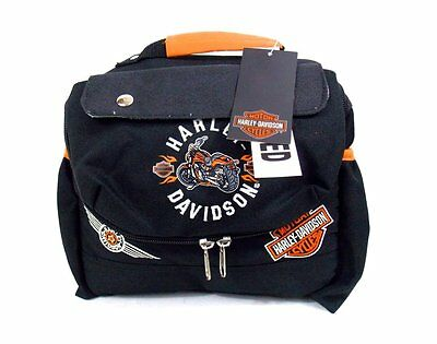 Harley-Davidson Insulated Lunch tote Bag Box NEW with Tag