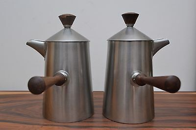 Fab Modernist Stainless Campden Range Coffee Set by Robert Welch for Old Hall