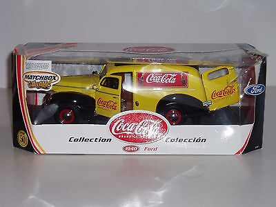 Matchbox 1:18 Diecast 1940 Ford Coca-Cola Delivery Truck or Van! - Coke