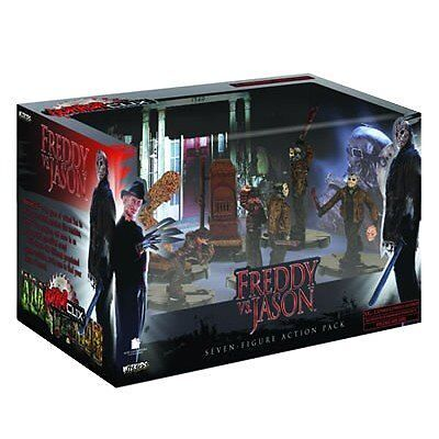 HorrorClix Freddy vs. Jason Action Pack