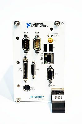 *USA* National Instruments NI PXI-8187 2.5 GHz Pentium 4 Embedded Controller