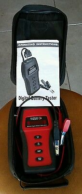 Matco Tools Digital Battery Tester w Case MD9300 Free Shipping.