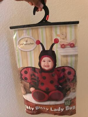 Lady Bug Halloween Costume For 6 Month Old Infant