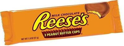 Reece's Peanut Butter Cups Milk Chocolate Cup Coated with Peanut Butter
