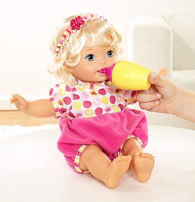 Little Mommy Laugh & Love Baby Interactive Doll Set Talks, Eats, Giggles,Bounces
