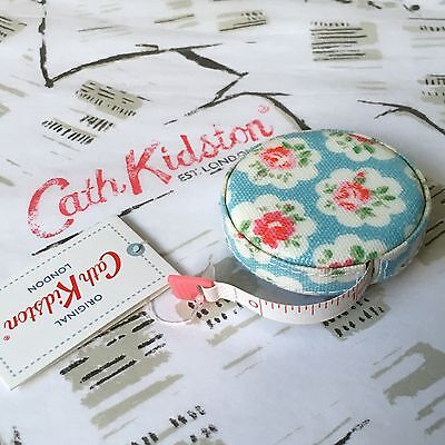 CATH KIDSTON Provence Rose Retractable Tape Measure - Sewing Craft NEW +Gift Bag
