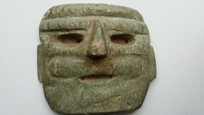 Huge Pre Columbian Chontal Guerrero Stone Mask