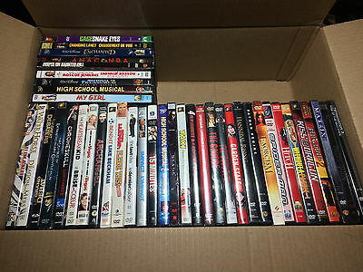 41 Dvd Movie Lot Mixed Genre Action Comedy Drama Horror