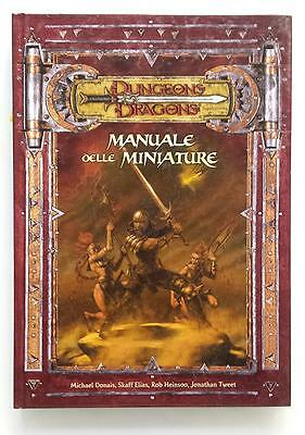 ★ OTTIMO STATO ITA ★ MANUALE DELLE MINIATURE ★ D&D Dungeons & Dragons ★