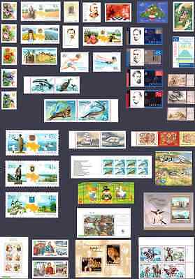 1992-2016 Ukraine Compleate Full Sets Of Stamps Block Sheet Mnh