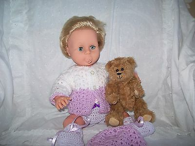 Vintage 1960s Tiny Tears Doll dummy + 3 outfits